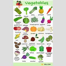 List Of Vegetables Useful Vegetables Names With Images  7 E S L