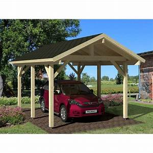 Carport Vor Garage : palmako carport robert ~ Lizthompson.info Haus und Dekorationen