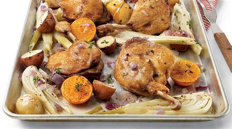cuisiner cuisse de canard confite duck confit with vegetables clementines and white wine