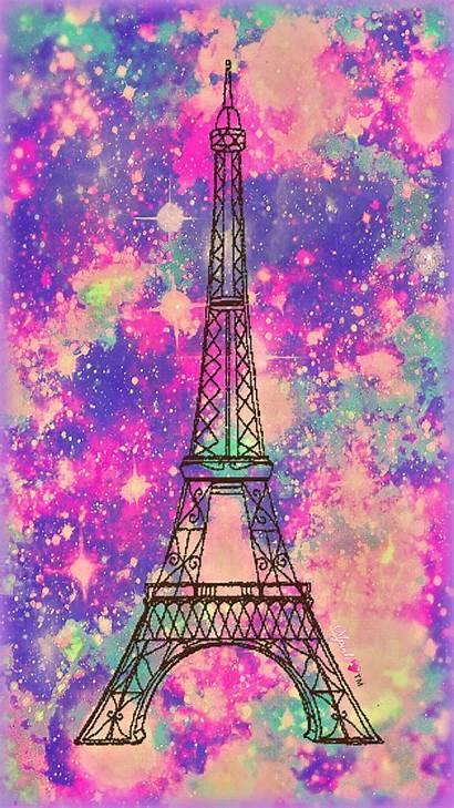 Paris Girly Galaxy Wallpapers Glitter Pink Pretty