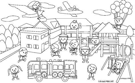 jeu de cuisine ecole de gratuit coloriage des enfants dans la cours de l 39 école gratuit