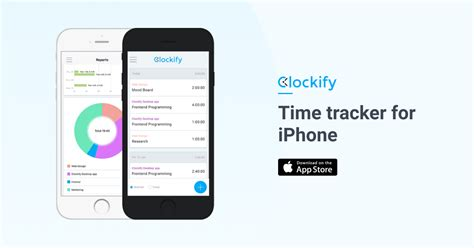 iphone ipad time tracking app clockify