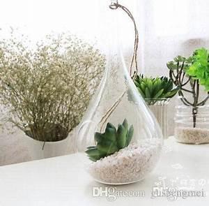Acheter Terrarium Plante : sale taper air plant glass hanging glass vase succulent terrarium kit for home decoration ~ Teatrodelosmanantiales.com Idées de Décoration