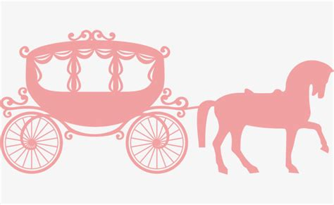 Pumpkin carriage, Pink, Romantic, Carriage PNG and Vector for Free Download