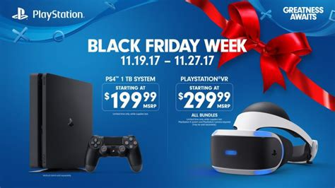 playstation s black friday 2017 deals 200 ps4 ps vr bundles and cheap controllers bgr