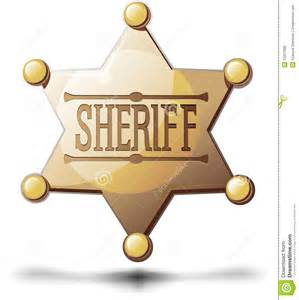 Sheriff Star Royalty Free Stock Photos - Image: 25257898