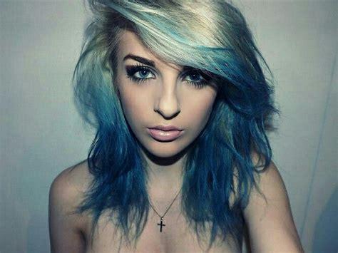 Blue Highlight Ideas Hair World Magazine