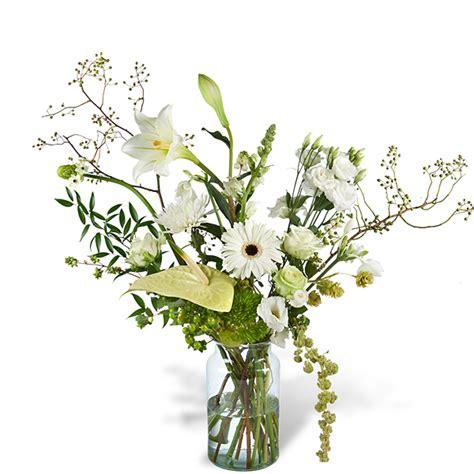 bloemen leusderweg boeket louise met vaas bestellen en bezorgen