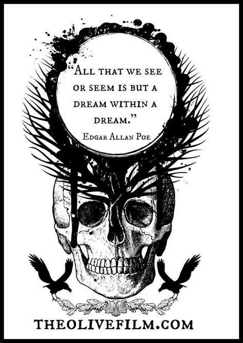 Edgar Allan Poe tattoo   Poe tattoo, Edgar allen poe quotes, Poe quotes