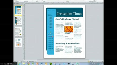 create  magazine content youtube