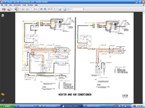 Ac Wiring Diagram 68 Mustang by 1971 Colorized Mustang Wiring Diagrams Cd Rom Ebay
