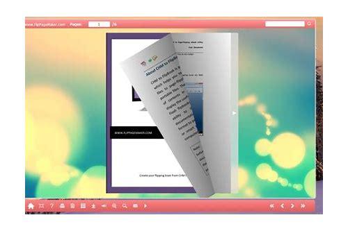 baixar gratis do flash flip book maker