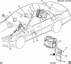2001 Cadillac Deville Module  Air Conditioning  A  C
