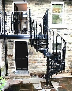 Escalier Colimaçon Beton : l 39 escalier ext rieur en 57 photos qui vous feront r ver ~ Melissatoandfro.com Idées de Décoration