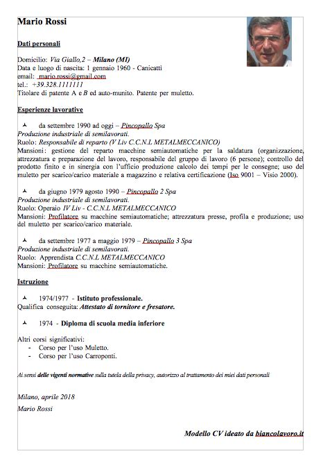 Modelli Curriculum Vitae Con Esempi, Da Scaricare E. Resume Summary Examples It. Cv Template Word Germany. Application For Employment At Walgreens. Cover Letter For Customer Service Specialist Position. Cover Letter For Junior Project Manager Position. Application For Job With Cv. Letter Resignation Of Work. Cover Letter For Resume Template
