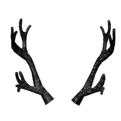 black iron antlers roblox roblox create  avatar