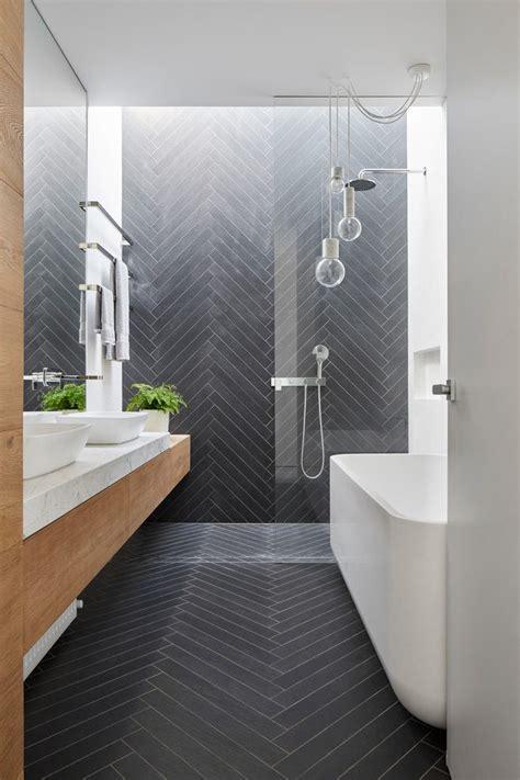 Bathroom Floor Tiles Melbourne by Melbourne Marble Floor Pattern Bathroom Contemporary With
