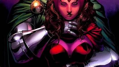 Scarlet Witch Marvel Doom Comics Dr Avengers