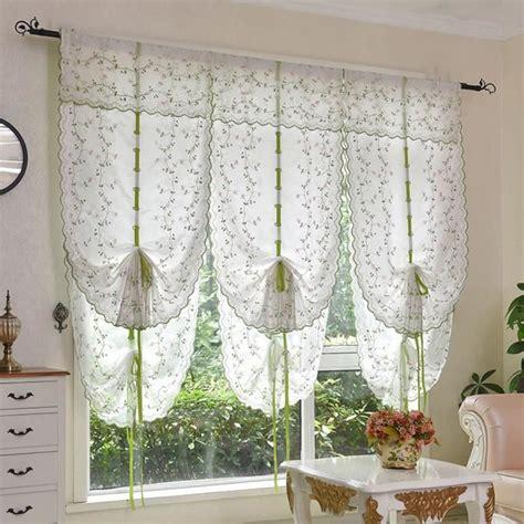 rideau store cuisine blanc 80 140cm 1 pc rideau pour fenêtre de salon chambre