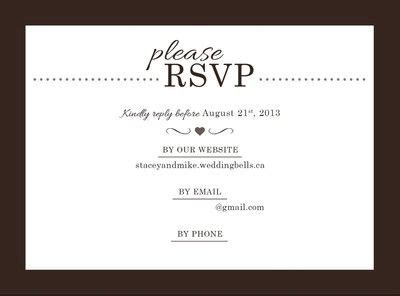 Wedding Invitation Rsvp Wording Shilohmidwifery com