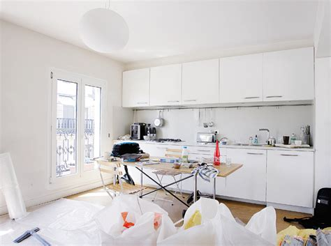 cuisine toute blanche dcoration cuisine blanche photos decoration cuisine