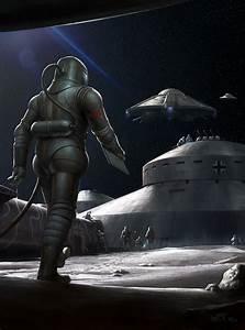 Nazi Moonbase - Base Assembly by wraithdt on DeviantArt