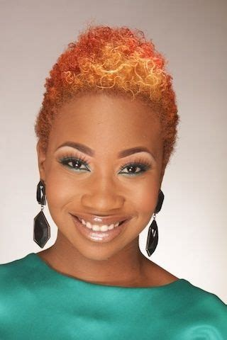 twa with color black hairstyles