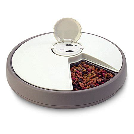 timed cat feeder 6 day automatic pet feeder walmart