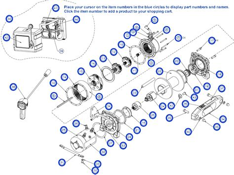 warn m6000 winch parts wiring diagram pictures