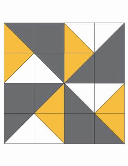 Quilt Pinwheel Block Double Patterns Blocks Quilting