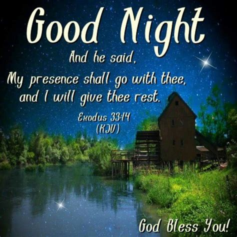 Goodnight God Bless You Quotes