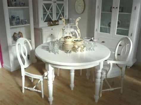 Weiße Runde Tische by 1958 Tisch Pinie Wei 223 Rund Mit Einlegeplatten