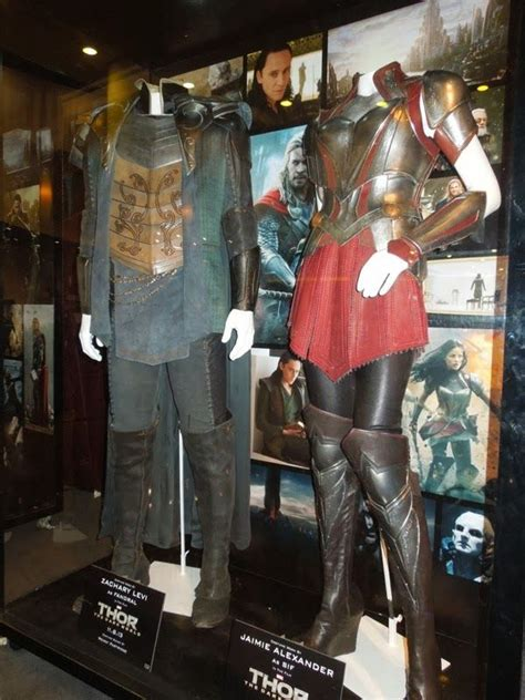 Thor The Dark World Fandral And Sif Movie Costumes
