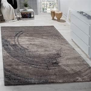 Teppich Grau Beige : edler designer teppich hochtief effekt kurzflor relief optik beige grau meliert wohn und ~ Indierocktalk.com Haus und Dekorationen