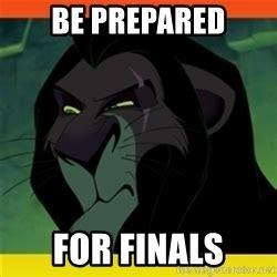 Be Prepared Meme - unimpressed scar lion king meme generator