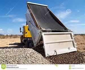 Truck Dumping Gravel Stock Photos - Image: 6340843