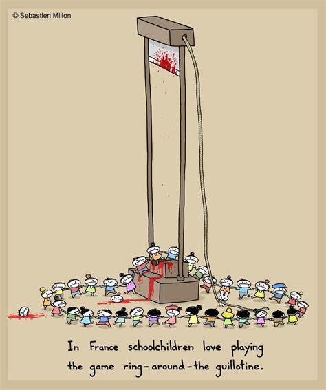 cat hammock with ring around the guillotine sebastien millon