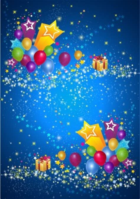 vector party star  balloon background vector art ai
