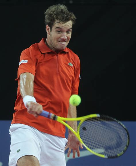 For months, richard gasquet felt as though he was starring in his own disaster movie, a story about a. Richard Gasquet Photos Photos - ATP Tennis Open Sud de ...