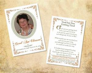 15 funeral card templates free psd ai eps format With funeral memory cards free templates
