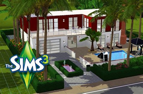 les sims 3 construction maison de r 234 ve