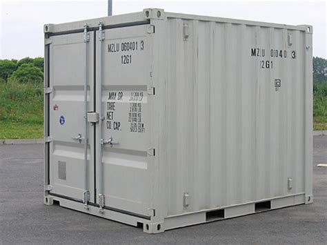 12 Fuß Container by Container Mieten Lagercontainer 10 Typ 300l Menzl Gmbh