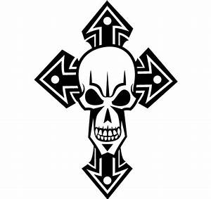 Free Skull Cross Vector Art | 123Freevectors