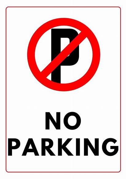 Parking Printable Template Signs A4