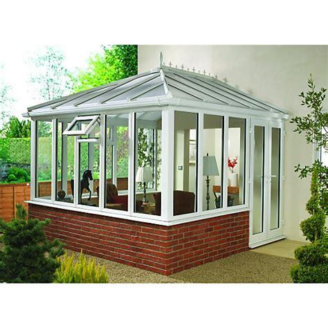 wickes edwardian dwarf wall white conservatory 10 x 12