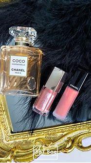 Chanel ROUGE ALLURE INK #196 #PRÉCIEUX & Fenty Beauty Bomb ...