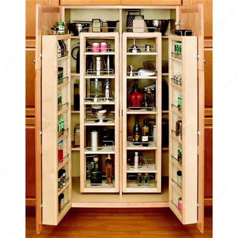 easy view cabinet organizers swing out wood pantry kit richelieu hardware
