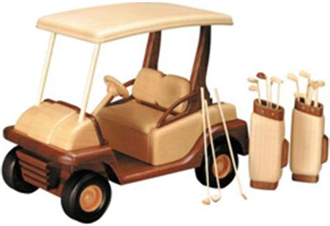 golf cart woodworking plan approx  inches