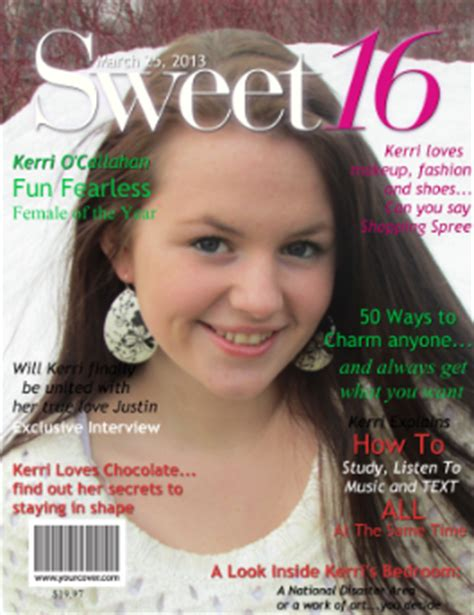 announcing march  cover   month  sweet