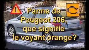 Voyant Ford Fiesta : panne peugeot 206 que signifie le voyant orange youtube ~ Medecine-chirurgie-esthetiques.com Avis de Voitures